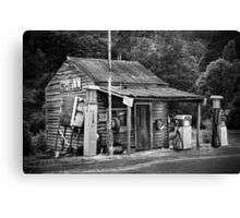 Woods Point Petrol St Canvas Print