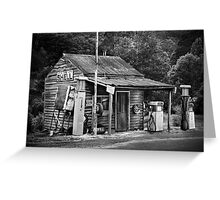 Woods Point Petrol St Greeting Card