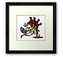 Venomthrope Vs. Cupcakes Framed Print