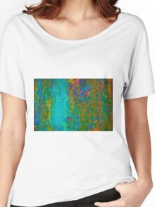 Color Abstraction LXVII Women's Relaxed Fit T-Shirt