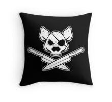The Jolly Porker Throw Pillow