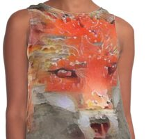 Sly Red Fox  Contrast Tank