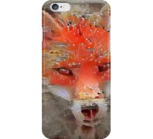 Sly Red Fox  iPhone Case/Skin