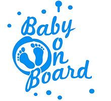 Baby On Board Boy Graffiti by Style-O-Mat