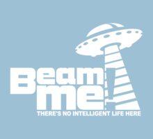 Beam me up V.3.2 (white) Kids Tee