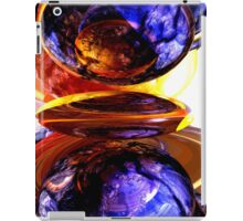 Colliding Forces Abstract iPad Case/Skin