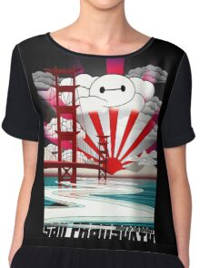 San Fransokyo,home of the Baymax Chiffon Top