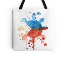 Philippine Flag Inspired Art Tote Bag