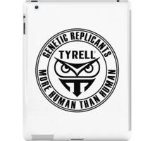 TYRELL CORPORATION - BLADE RUNNER (BLACK) iPad Case/Skin