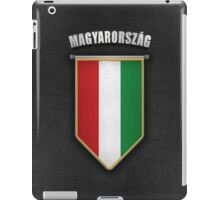 Hungary Pennant with high quality leather look iPad Case/Skin