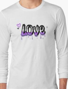 Asexual Love Long Sleeve T-Shirt