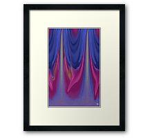 Weeping Color Framed Print