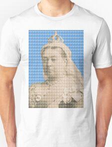 I'm Not Amused - Blue Unisex T-Shirt