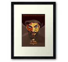 The Mighty Jah Shaka Framed Print