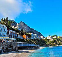 Island of Capri, Amalfi Coast View by MadisonStone