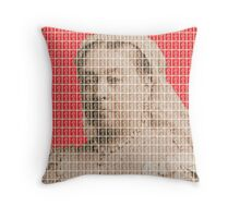 I'm Not Amused - Red Throw Pillow