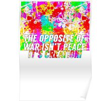 The Opposite Of War Poster