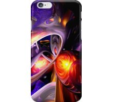 Relaxation Theory Abstract iPhone Case/Skin