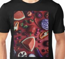 Red and purple food Unisex T-Shirt