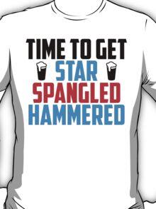 Get Star Spangled Hammered T-Shirt