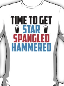 Get Star Spangled Hammered T-Shirt