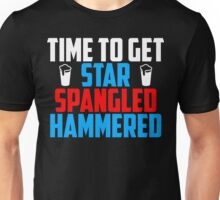 Get Star Spangled Hammered Unisex T-Shirt
