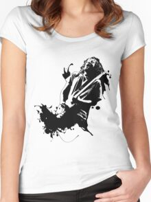 Ink Frusciante Women's Fitted Scoop T-Shirt
