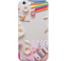 Crafting tools iPhone Case/Skin