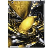 Gold Fever Abstract iPad Case/Skin