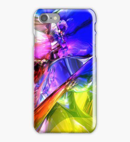When Rainbows Collide iPhone Case/Skin
