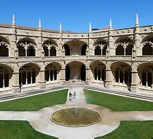 Jerónimos Monastery, Lisbon by Trish Meyer