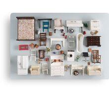 Miniature furniture Canvas Print