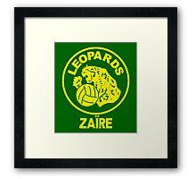 ZAIRE 1974 WORLD CUP Framed Print