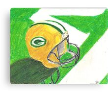Green Bay Victory Canvas Print