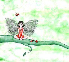 Ladybug Fairy by Diana Hlevnjak