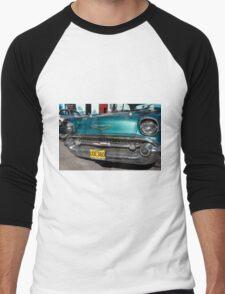 Oldtimer-Car in Cuba Men's Baseball ¾ T-Shirt