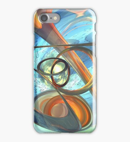 Tranquil Times Abstract iPhone Case/Skin