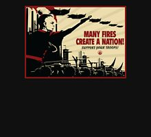 Many Fires Create A Nation Unisex T-Shirt