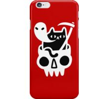 bad cats iPhone Case/Skin