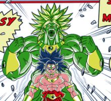 The Incredible Broly Sticker