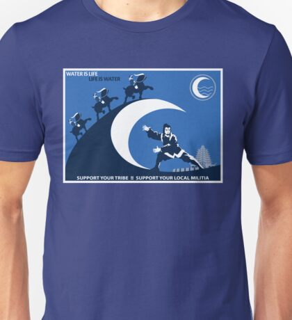 Support Your Local Water Tribe T-Shirt