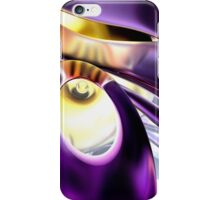 Passionate Orchid Abstract iPhone Case/Skin