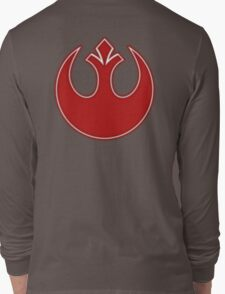 Rebel Alliance Neon Symbol Long Sleeve T-Shirt