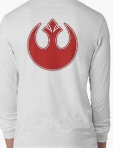 Rebel Alliance Neon Symbol Long Sleeve T-Shirt