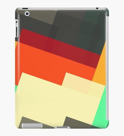 Miscellaneous retro shapes iPad Case/Skin