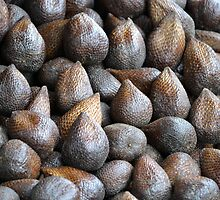 bunch of snake fruit by bayu harsa