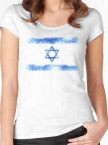 Israel Women's Fitted Scoop T-Shirt