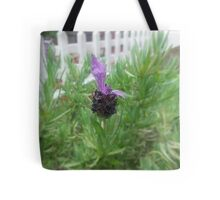 Lavender Across the Fence Tote Bag