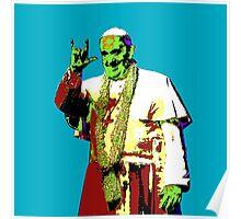 Rock Pop Pope Superstar Poster