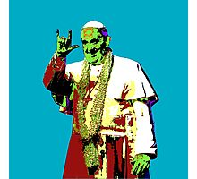 Rock Pop Pope Superstar Photographic Print